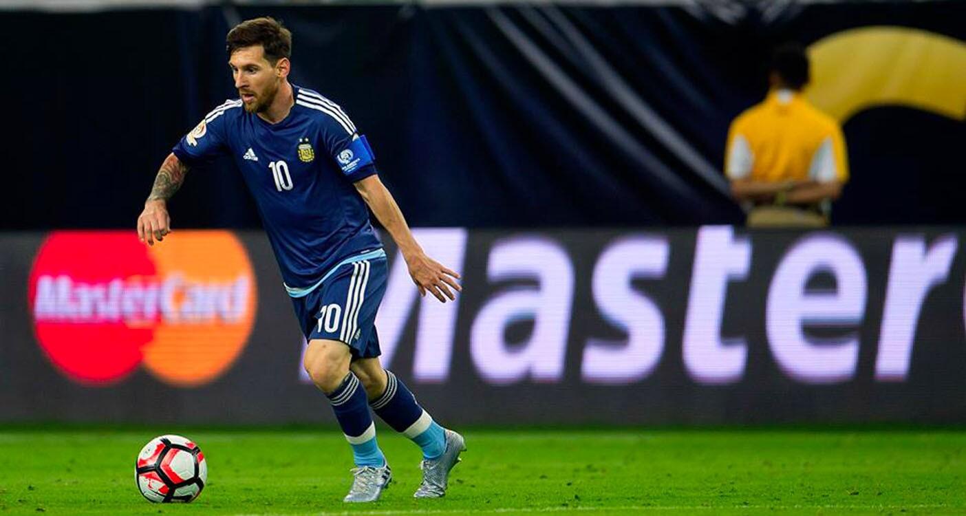 Messi... genio y figura en estado puro.