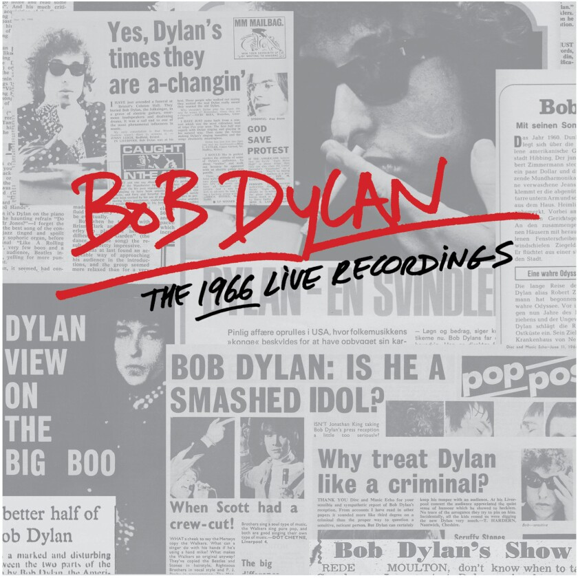 """All known recordings made during Bob Dylan's 1966 world tour are collected in the 36-CD box set """"Bob Dylan: The 1966 Live Recordings,"""" set for release Nov. 11."""