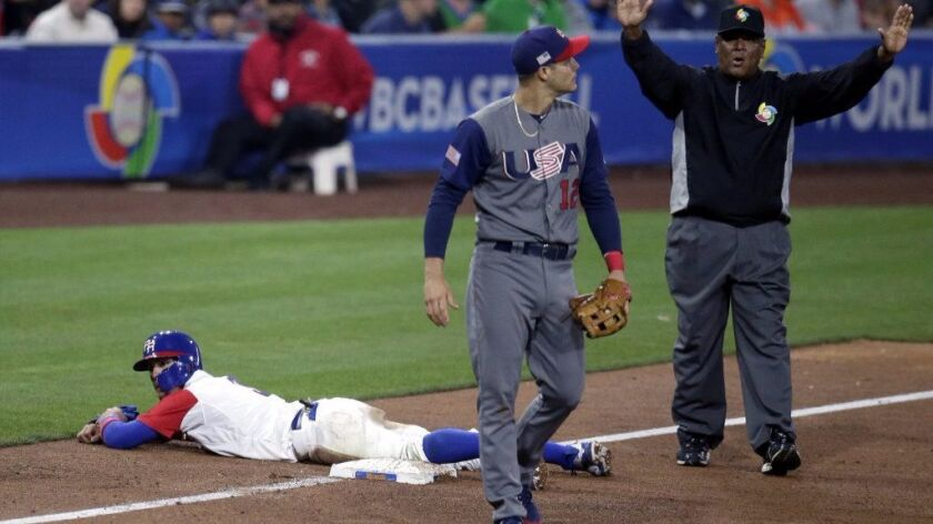WBC: United States on brink of elimination after loss to Puerto Rico