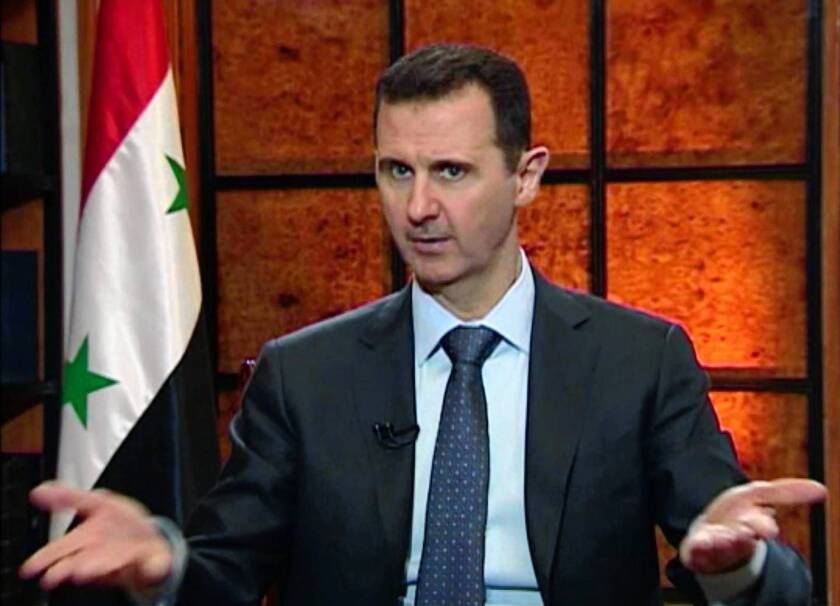 Syria's Bashar Assad warns 'terrorism' will come back to West