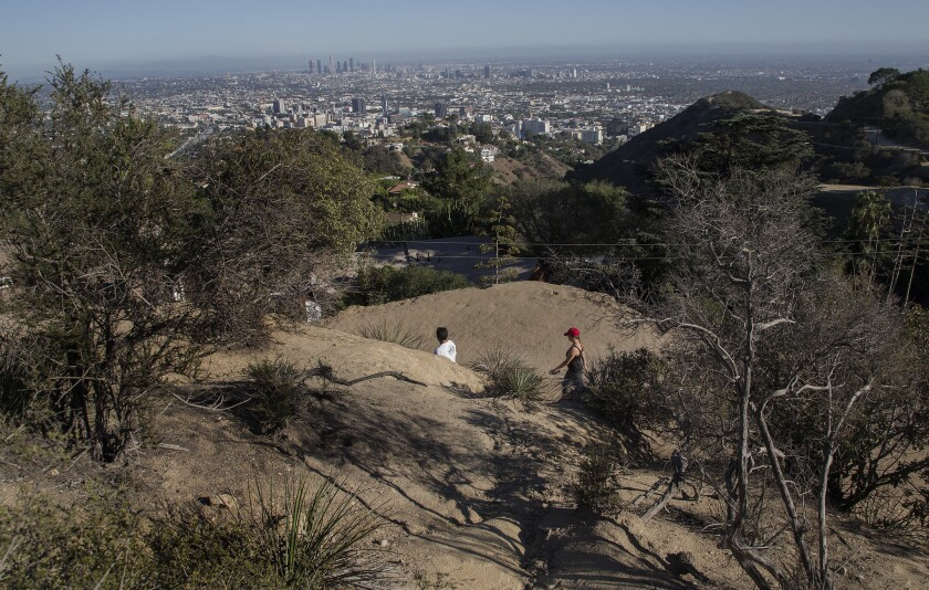 Runyon Canyon will be closed from April through June while the Los Angeles Department of Water and Power replaces an aging, one-mile-long pipe.