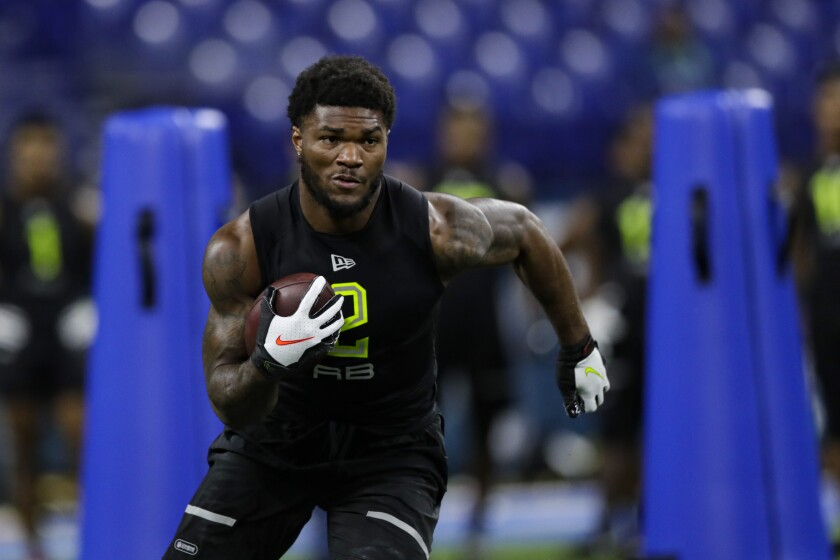 Rams Cam Akers Eager To Use Advice Todd Gurley Gave Him Los Angeles Times