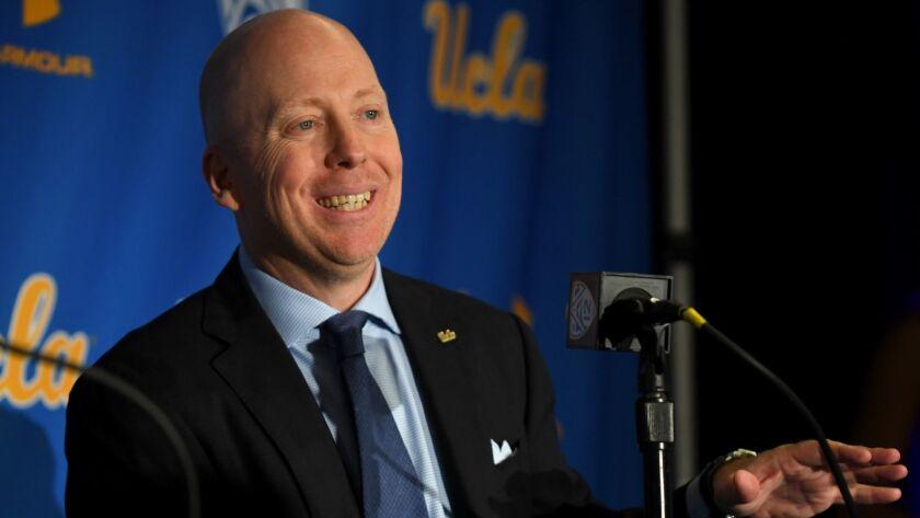 UCLA Introduce Mick Cronin
