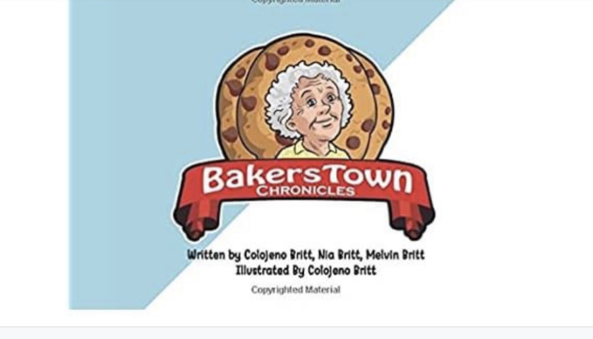 """The cover of """"BakersTown Chronicles."""""""