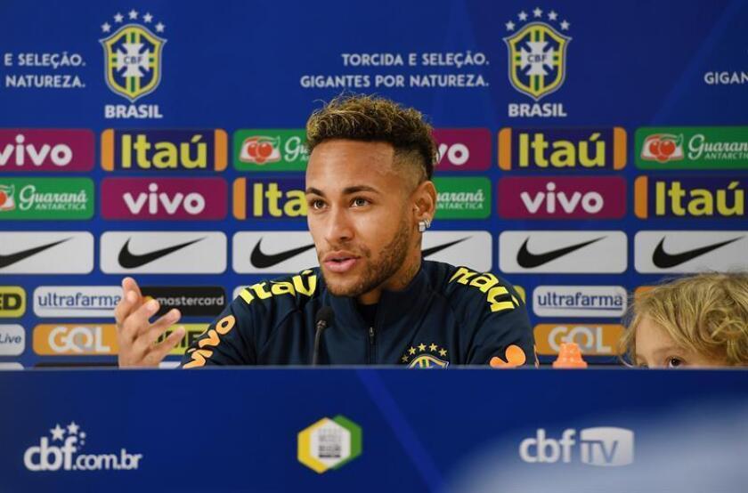 En la imagen, el delantero brasileño Neymar, del París Saint-Germain (PSG). EFE/Archivo