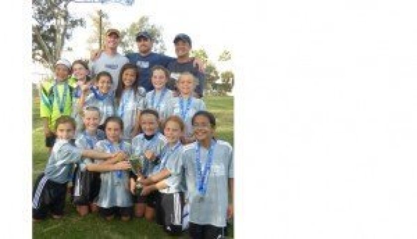 Sharks U10 girls gold
