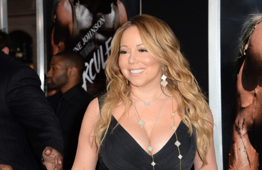 Mariah Carey's voice cracked several times when she opened her Elusive Chanteuse tour in Tokyo on Oct. 4.