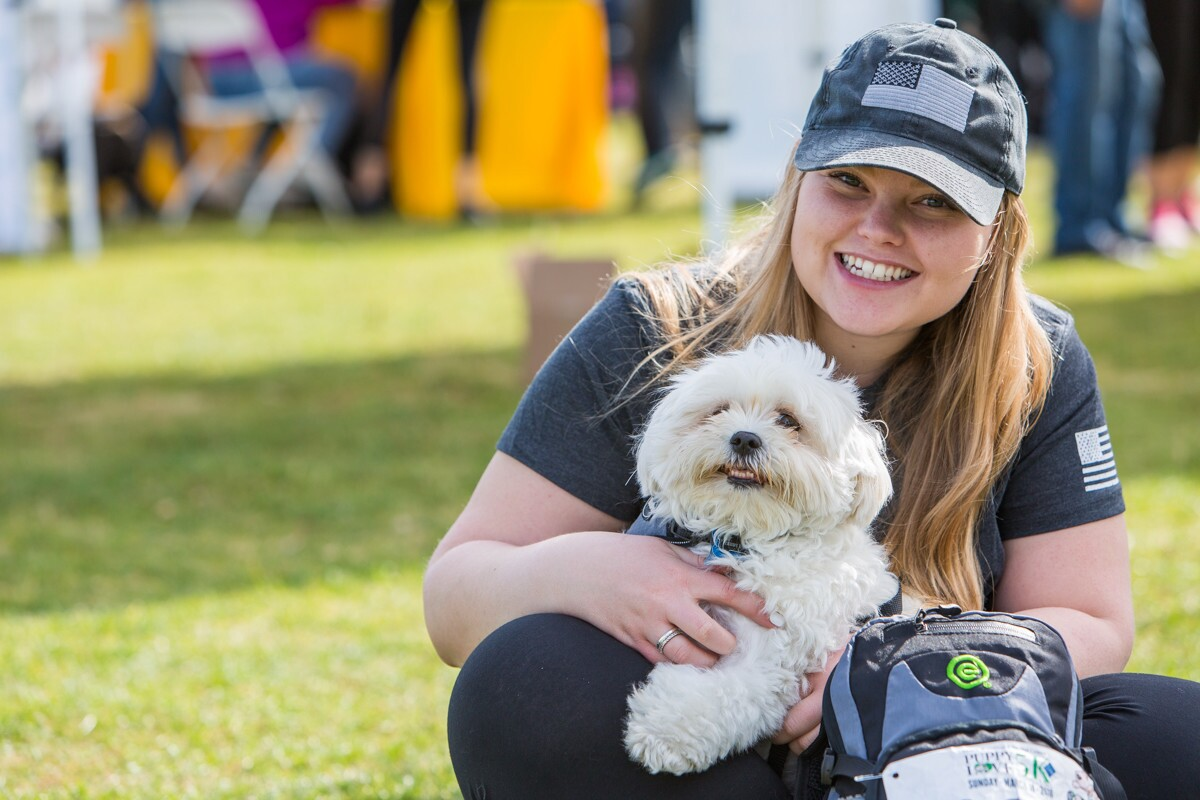 Paw-ticipants at the 9th Annual Puppy Love 5K presented by the Helen Woodward Animal Center raised funds to help support animal rescue on Sunday, March 18, 2018.