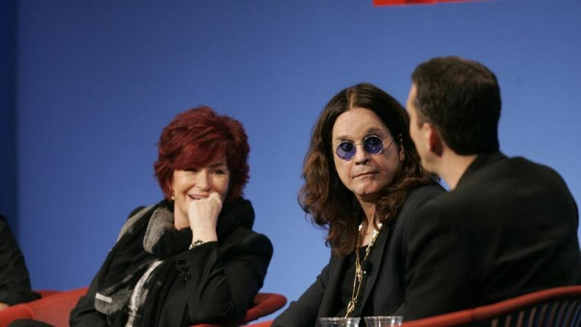 Sharon and Ozzy Osbourne talked about the heavy metal singer's genome sequencing at the 2010 TEDMED