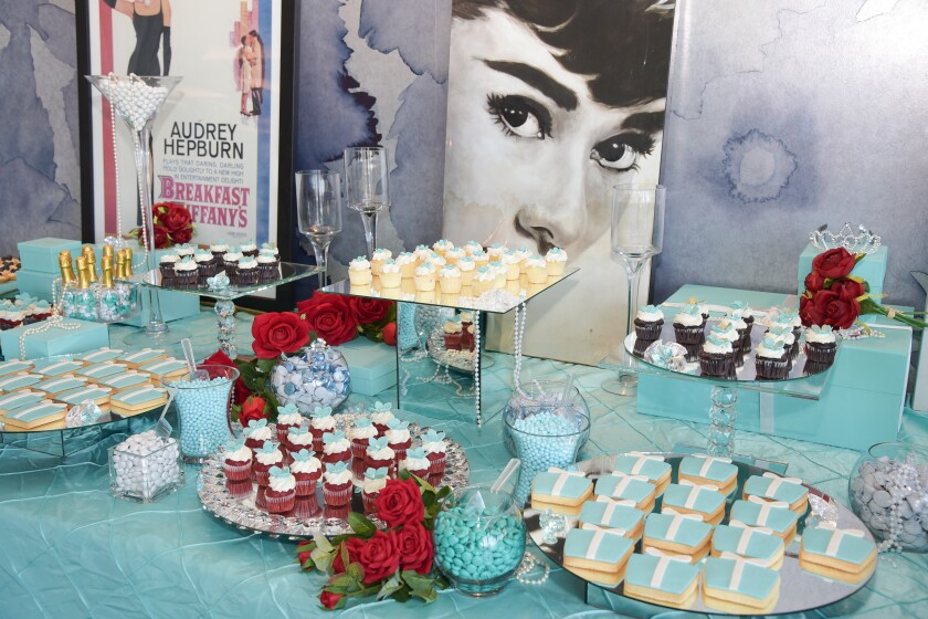 Delicious treats offered at the 2019 Breakfast at Tiffany's event.