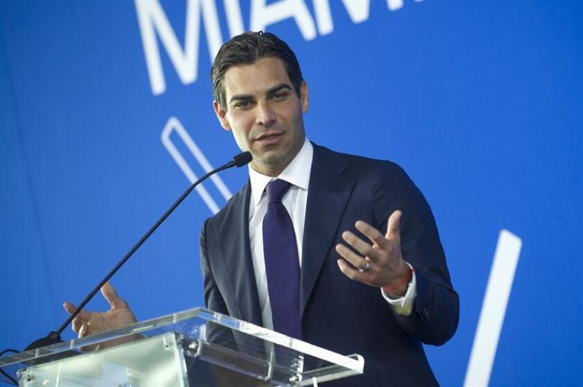 En la imagen, el alcalde de Miami, Francis Suárez. EFE/Archivo