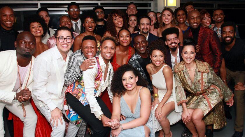 """Hamilton"" Opening Night In Puerto Rico"
