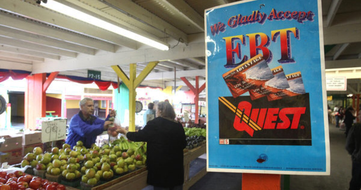 Demand for food stamps surges in California as virus takes economic toll