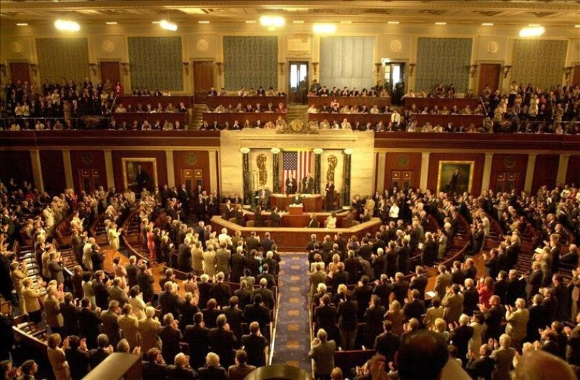 The floor of the U.S. House of Representatives.