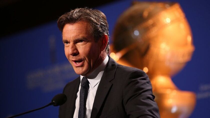 Actor Dennis Quaid has put his 1929 Spanish-style home in Pacific Palisades on the market at $6.495 million.