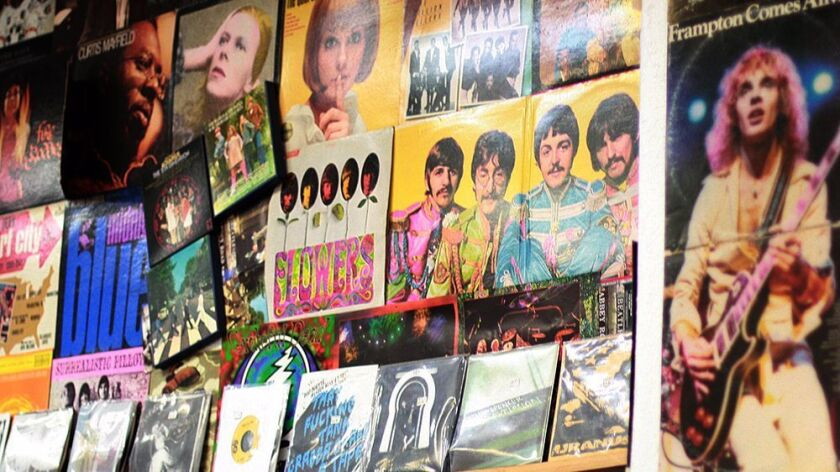 Cow Records in Ocean Beach attracts tourists and locals because of its extensive record collection.