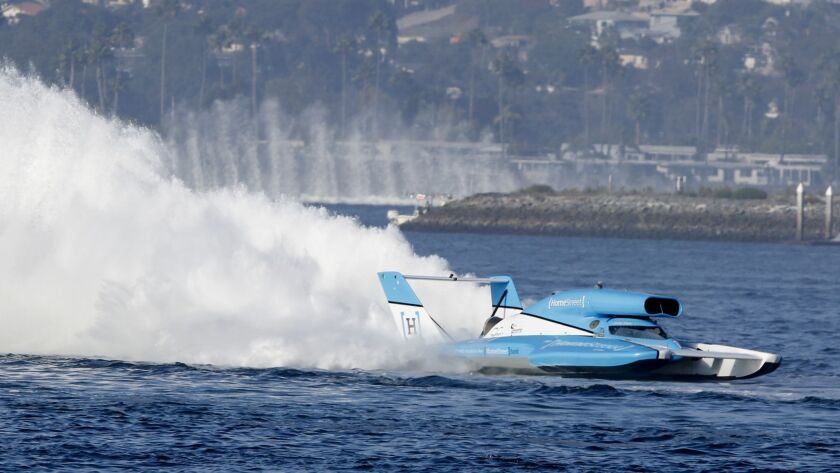 The San Diego Bayfair event features three days of boat racing, hydroplane boats, and this year there's a barbecue competition, too, in Mission Bay from Sept. 14 to 16.