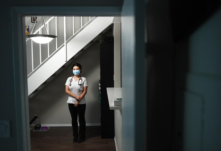 Cal St. Long Beach nursing student Naomi Muñiz