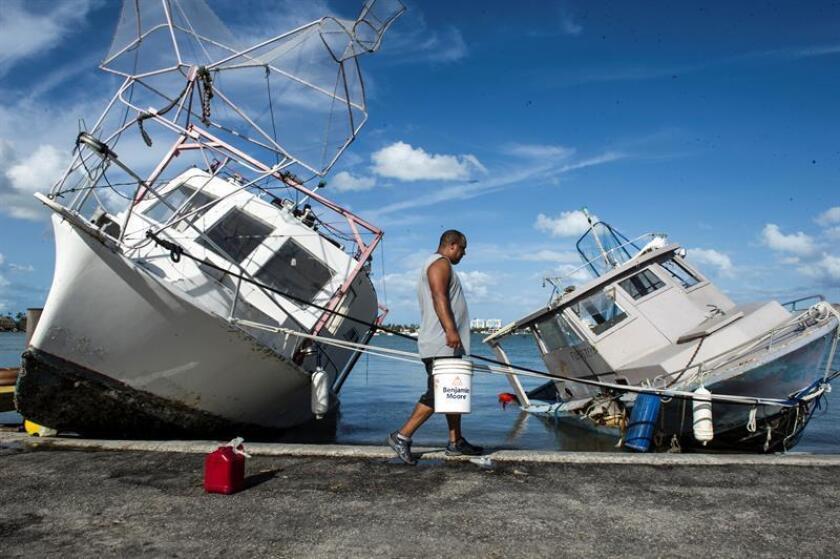 Un total de 2.137 embarcaciones han sido ya sacadas de los canales de Florida, cuando se cumplen trece semanas del paso devastador del huracán Irma por este estado sureño donde causó al menos 72 muertos, informó hoy la Guardia Costera. EFE/ARCHIVO