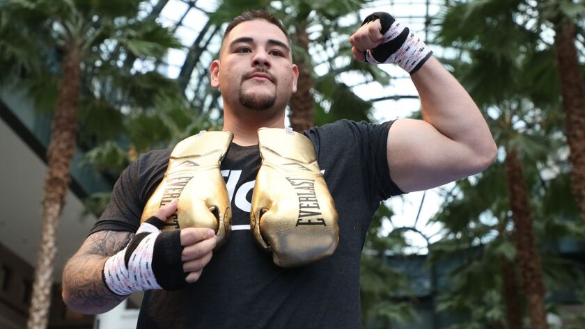 Andy Ruiz Jr. may become the first fighter of Mexican descent to become heavyweight champ when he meets Anthony Joshua on Saturday at Madison Square Garden.