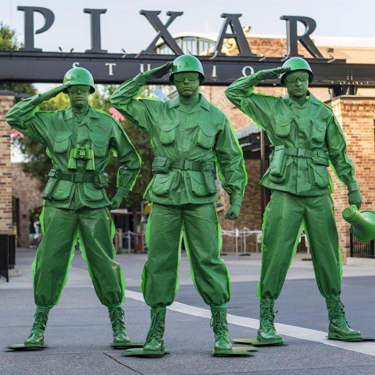 Los soldados de Toy Story