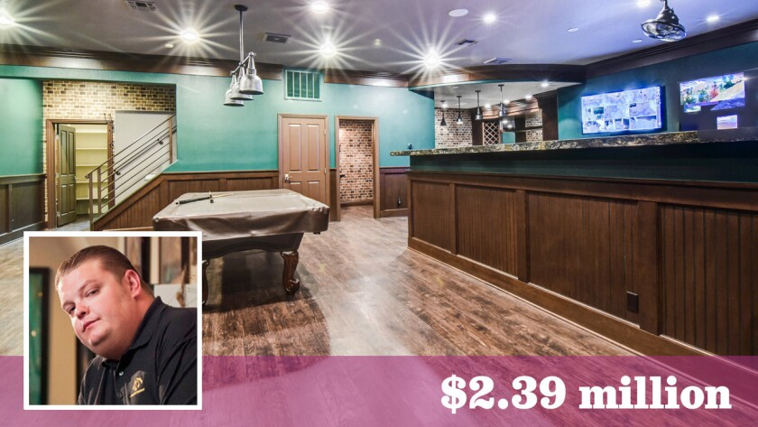 """""""Pawn Stars"""" personality Corey """"Big Hoss"""" Harrison is asking $2.39 million for his home in Las Vegas."""
