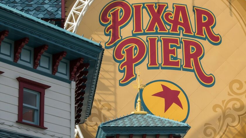 Pixar Pier opens June 23 at Disney California Adventure park in Anaheim. The rethemed area will include rides, shops, arcade games and restaurants themed for Disney Pixar animated film characters.