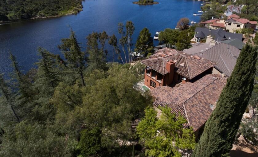 Tom Petty's lake house