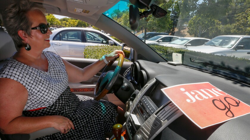 See Jane Go will launch in the fall, offering a ride-hailing service for women, run by women and driven by women.