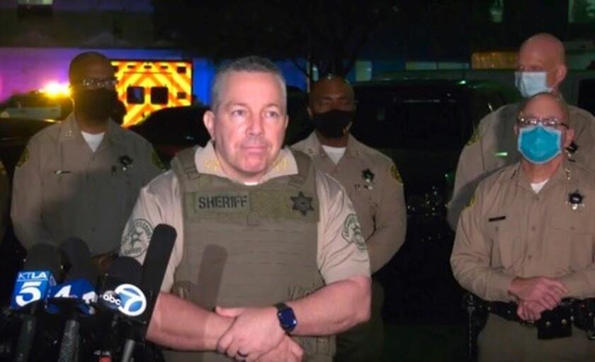 Los Angeles Sheriff Alex Villanueva