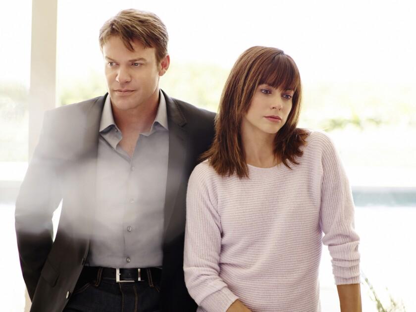 """Matt Passmore and Stephanie Szostak star in """"Satisfaction."""""""