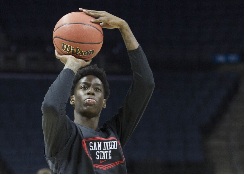 Former Aztecs basketball player Dwayne Polee II lost consciousness on the bench during a D-League game last week after collapsing twice in his SDSU career.