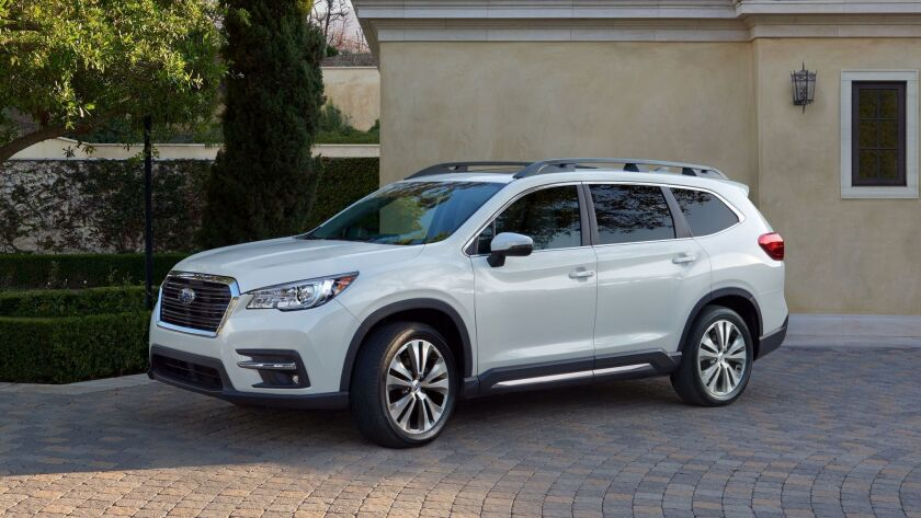 2019 Subaru Ascent 8 Seater (Tribeca Replacement SUV): Review, Price >> L A Auto Show 2017 Subaru Unveils 2019 Ascent Its Largest Suv