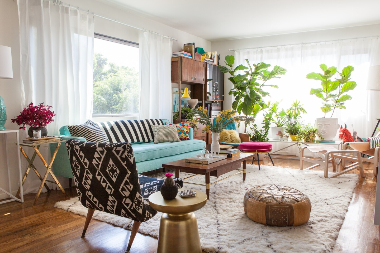 Design swap: Living room