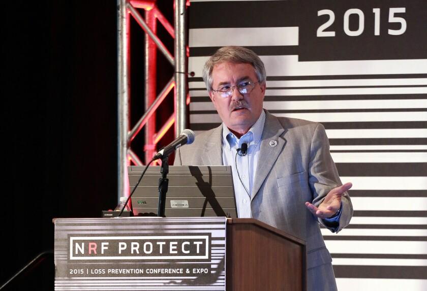 Retail crime expert Richard Hollinger