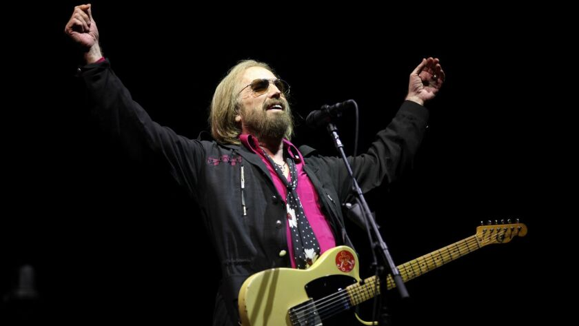 SAN DIEGO, CA-SEPTEMBER 17, 2017: Tom Petty and The Heartbreakers headline the final day of KAABOO D