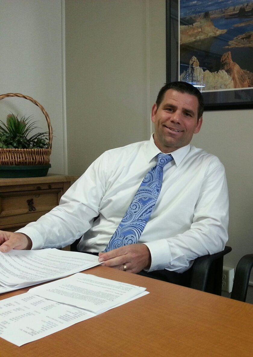 Superintendent Tom Pellegrino