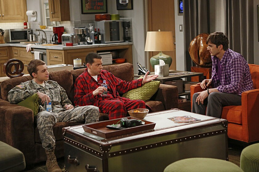 'Two and a Half Men' swaps Angus T. Jones with lesbian character