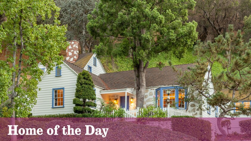 Designed by architect Gerard Colcord, the Glendale cottage is listed for sale at $850,000.