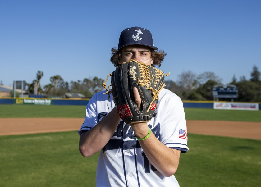 Newport Harbor High senior baseball player Evan Langston has committed to University of Colorado at Colorado Springs.