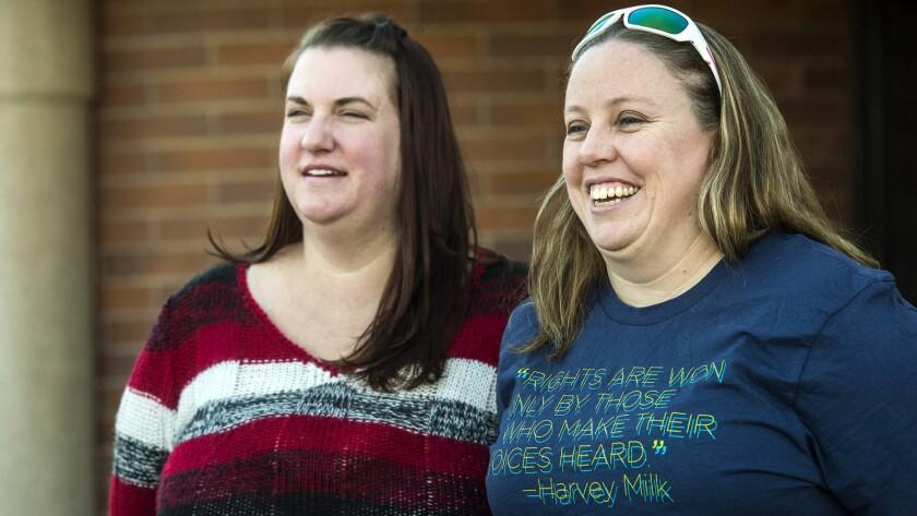 Lesbian foster parents