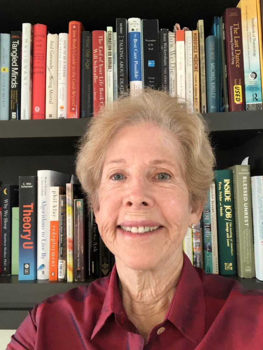 La Jolla resident and author Susan Lieberman