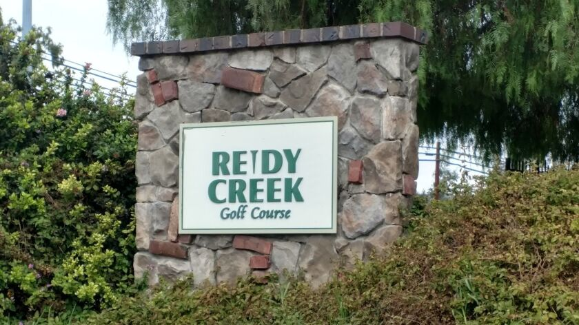 The Reidy Creek Golf Course is in northern Escondido off Broadway.