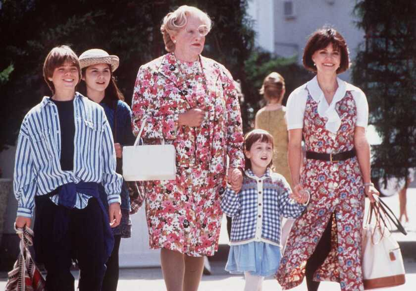 """Still up in the air at the time of Robin Williams' death was a prospective sequel to """"Mrs. Doubtfire."""""""