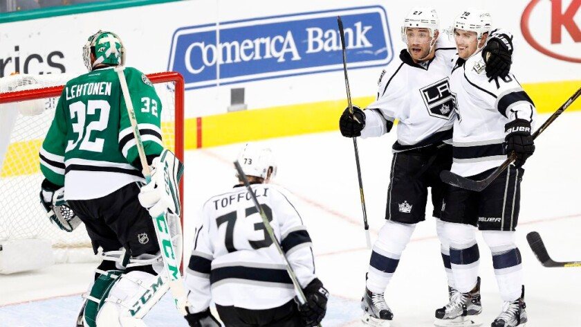 Kings beat Stars, 4-3, in OT to avoid 0-4 start