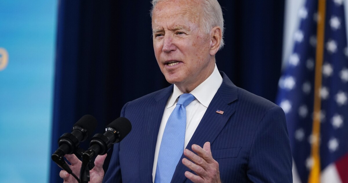 Biden urges U.S. to get vaccinated after FDA's Pfizer approval