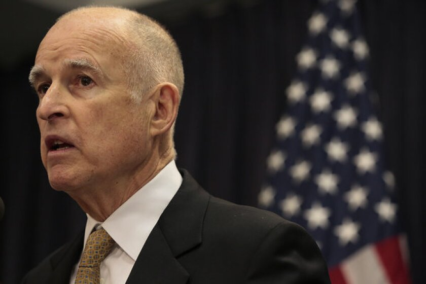 California Gov. Jerry Brown signed a bill allowing students to participate in school programs and use school facilities that match their gender identity, not their physical sex.