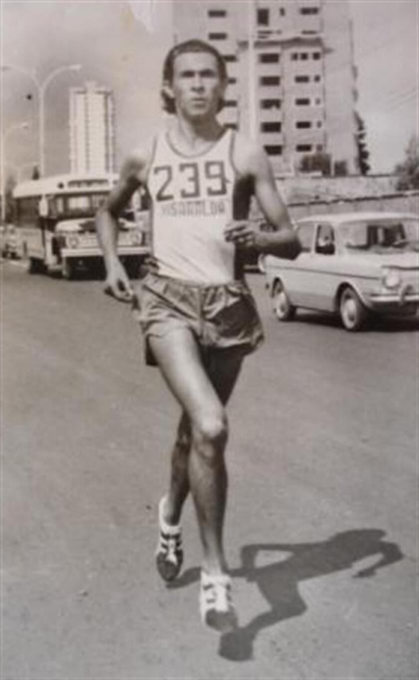 El atleta colombiano Hernán Barreneche ,en competición. EFE/Archivo