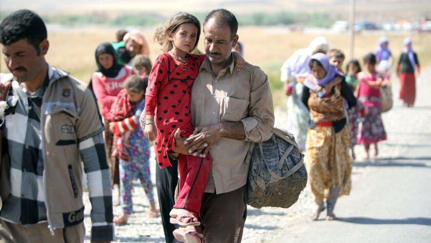 IRAQ-SYRIA-UNREST-YAZIDI-DISPLACED