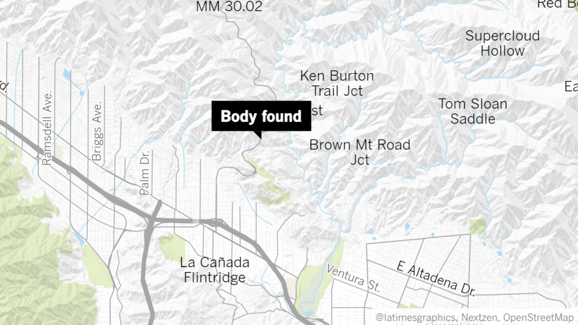 Pasadena police detectives are investigating a possible homicide after a body with bullet wounds was found on the side of Angeles Crest Highway near mile marker 26.8 early Wednesday.